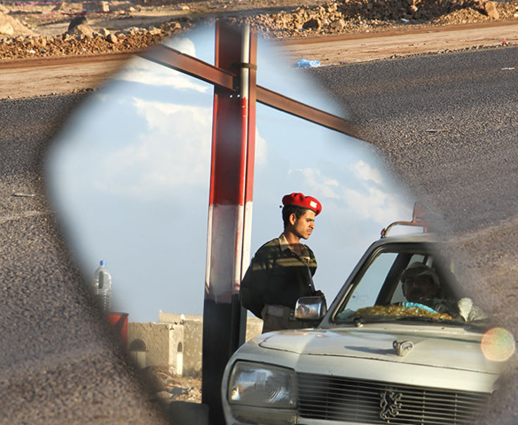 Photo of a soldier in Yemen, a country with high rates of Christian Persecution