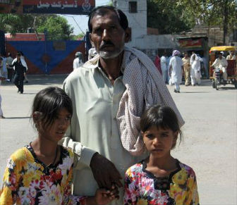 Asia Bibi- Husband and Children in Hiding- Pakistan