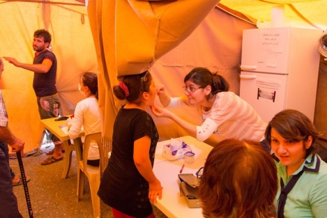 Medical Clinic In Iraq For Refugees