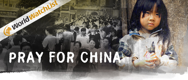 Persecuted Christian in China