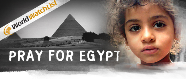 Pray for Egypt