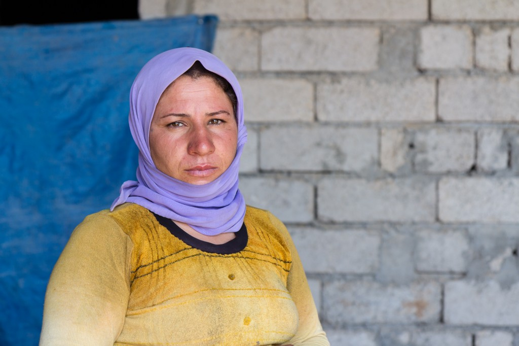 Syrian Refugee Woman- Persecuted Christian- Open Doors USA