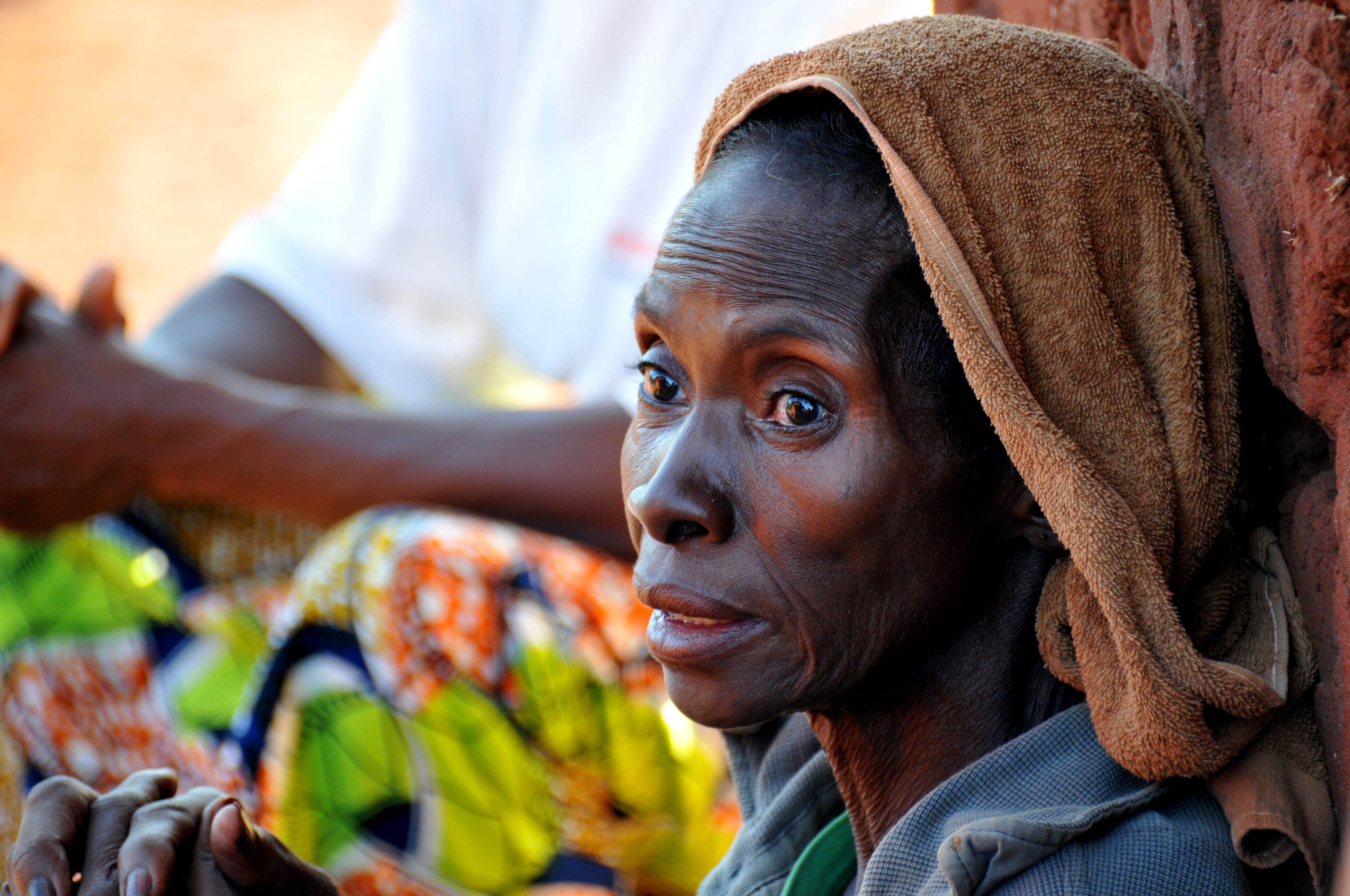 african central republic widow doors open pascal martine woman usa brokenness pope visits hope land seleka killed