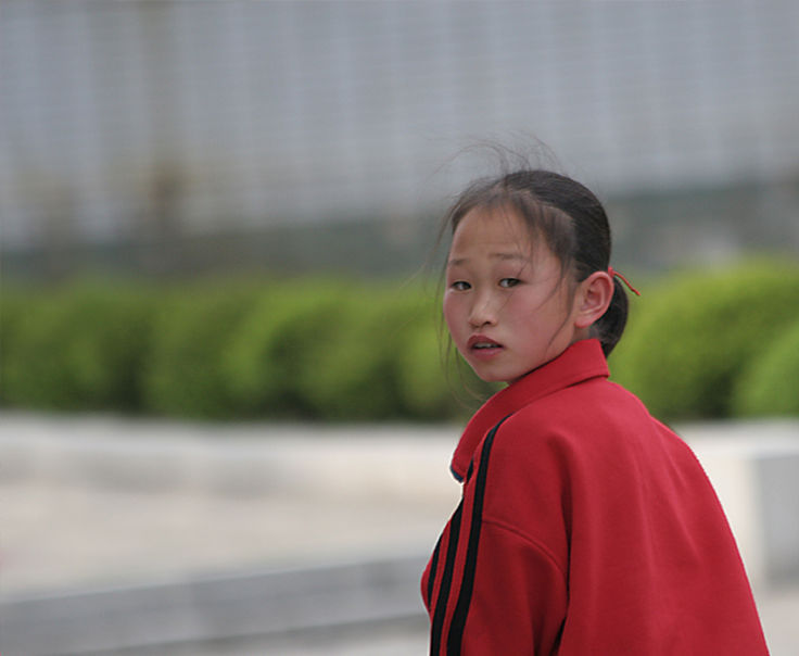 Girl- North Korea