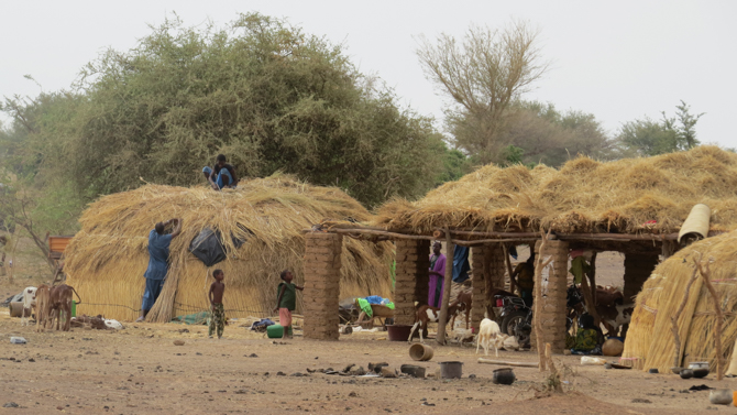 Photo of a Mali village where Christian persecution has risen.