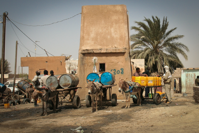 Photo of a Mauritanian city where Christian persecution exists.