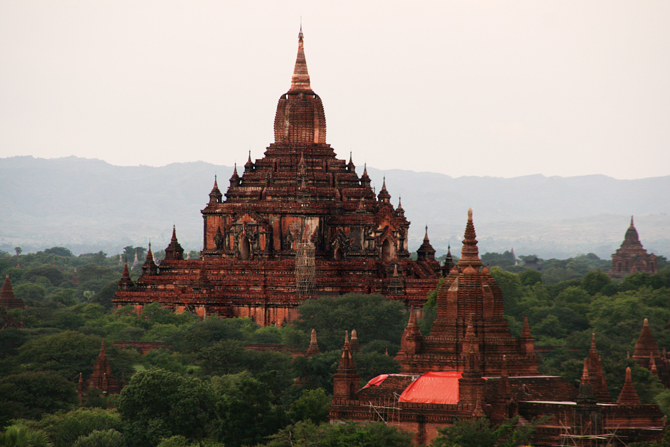 Photo of a Buddhist temple in Myanmar. Buddhists are the main source of Christian persecution in Myanmar