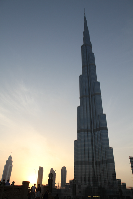 Photo of a tower in the UAE, Christian persecution is a factor here.