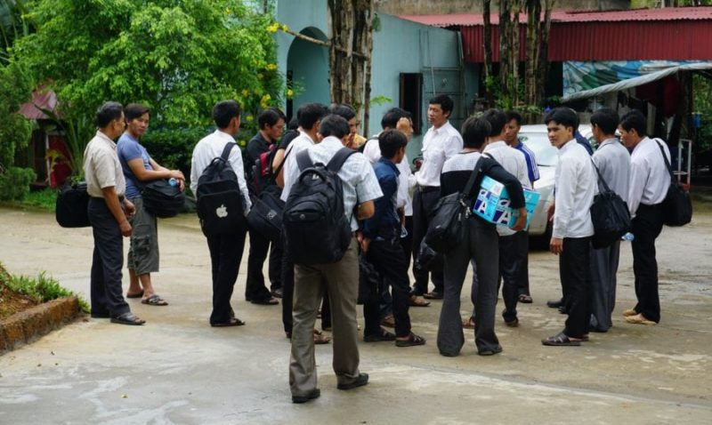 Hanoi Bible Students Arrested