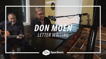 Don Moen – Letter Writing to Persecuted Christians