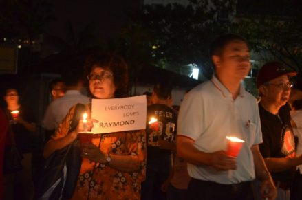 Candlelight Prayer Vigil for Abducted Pastor
