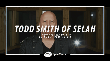 Todd Smith of Selah – Letter Writing