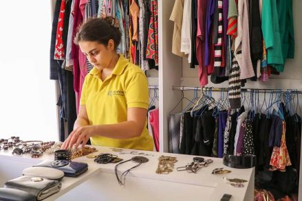 A Jordanian Boutique Clothes Refugees with Dignity