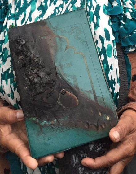 Indonesia—New Believer Interrogated, His Bible Burned