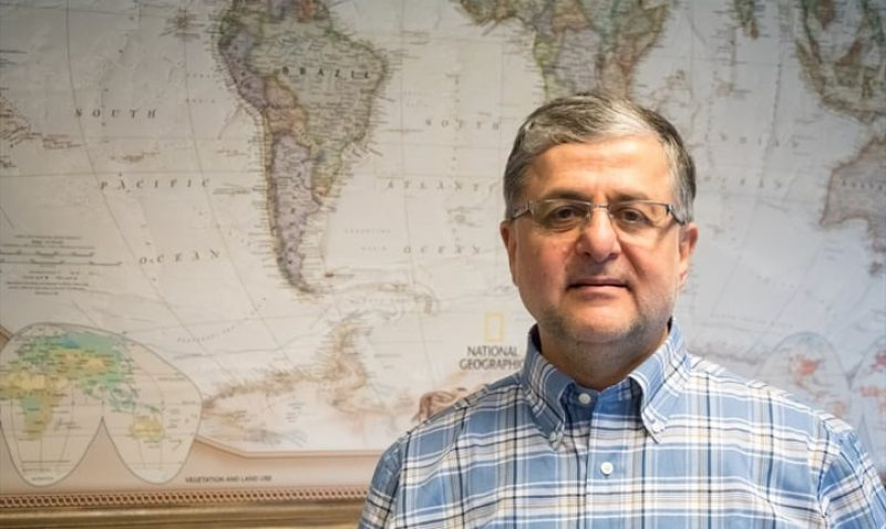 Pastor Edward sees beams of light through the dark cloud over Syria