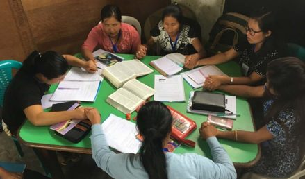 Pray With Women in Myanmar Learning Their Worth in God's Eyes