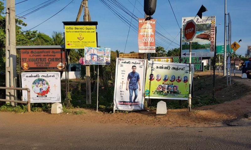 The cross is still standing: Reflections from Sri Lanka
