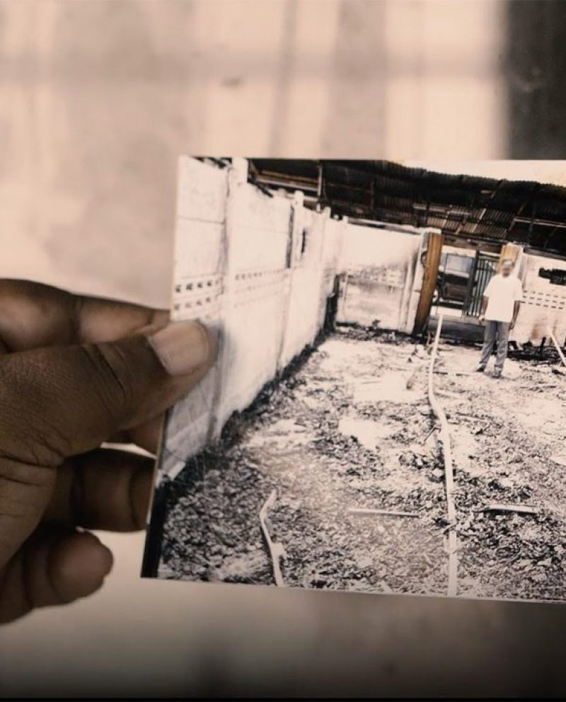 Radicals burned down his church, but God did something powerful in the ashes