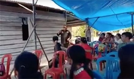 'It's our right to have Sunday service'—police halt church worship in Indonesia