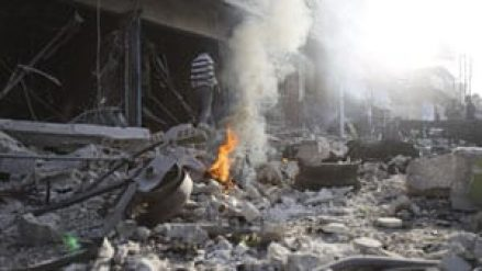 In Syria, 7 killed and dozens injured in multiple bombings, church leader shootings