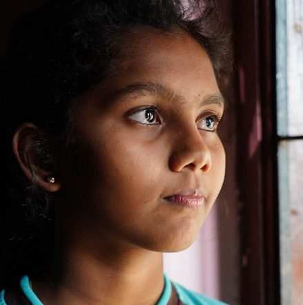 Extremists killed her mother, but hearing this young girl read Psalm 23 inspires hope