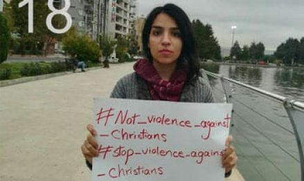 In Iran, 21-year-old Christian activist arrested, missing—'no one has heard from her'