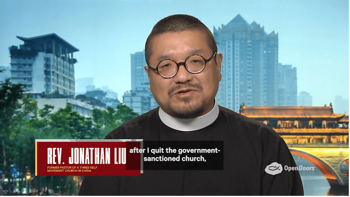 A former pastor in the official Chinese Protestant church recently spoke about the reality of persecution against Christians in China.